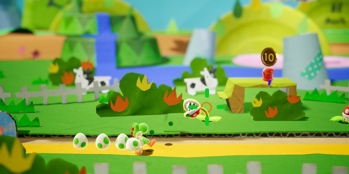 Yoshi for Nintendo Switch.