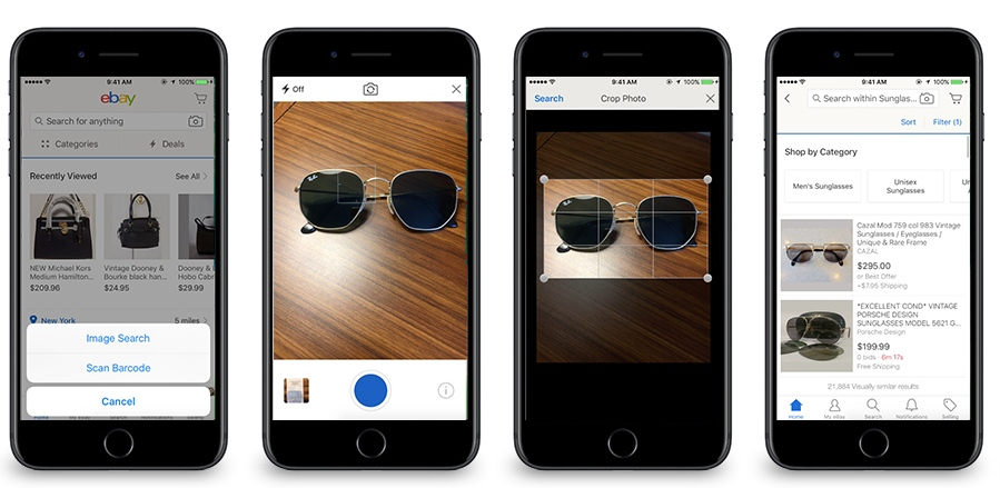 eBay Launches Computer Vision Search Tools to Find Items Using Photos