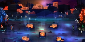 Pyre review — RPG dodgeball is as stylish as it sounds