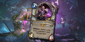 Hearthstone's Archbishop Benedictus is Blizzard's craziest card ever