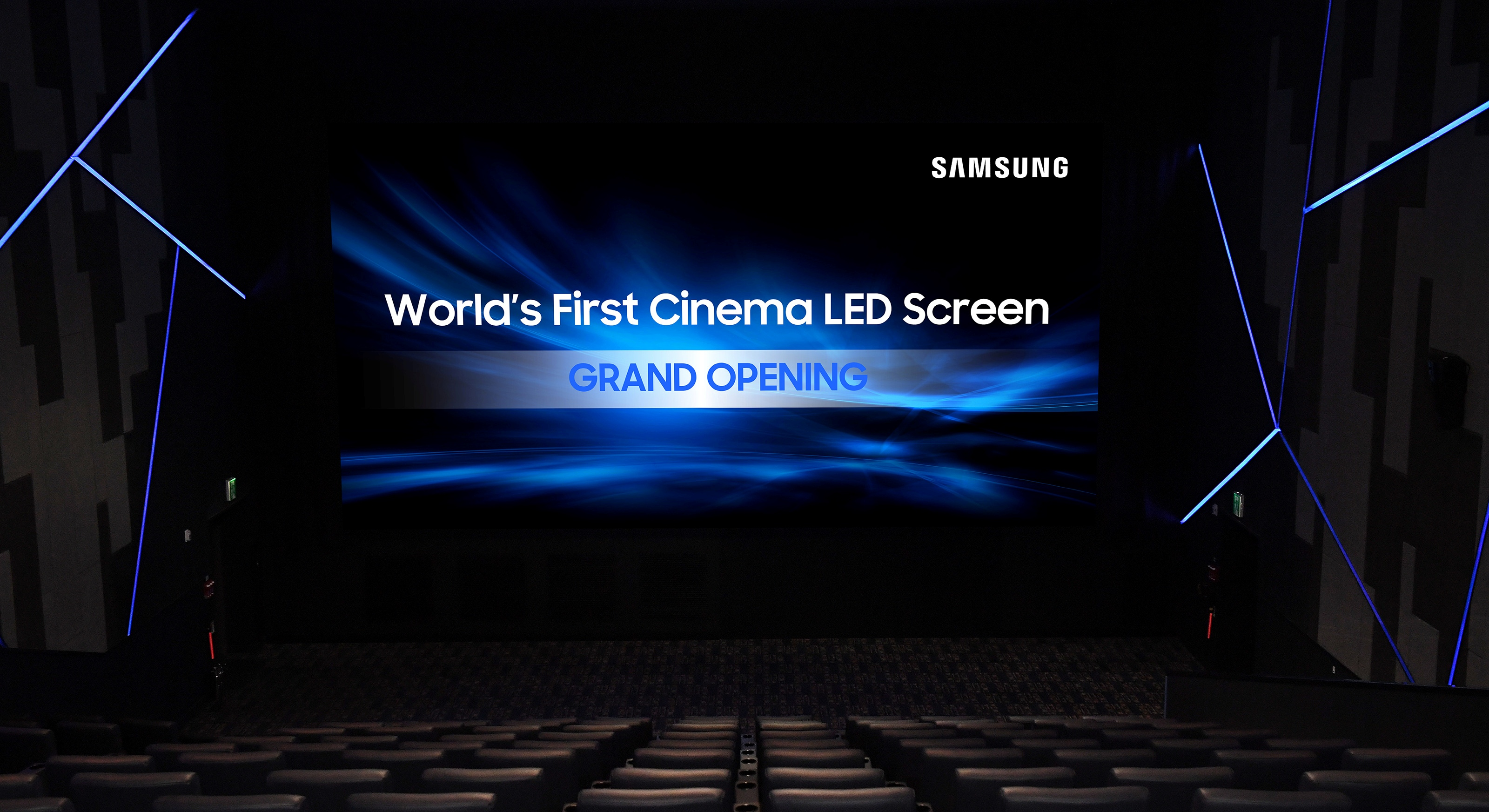 Samsung brings LED displays to European movie theaters, plans U.S. launch in 2018