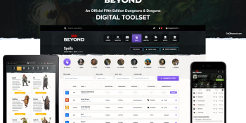 D&D Beyond's Dungeon Master and player tools will launch August 15 [update]