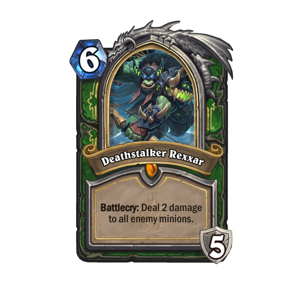 Deathstalker Rexxar is the Death Knight form of Rexxar.
