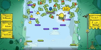 Doodle Jump bounces into casinos as a 'gamblified' game
