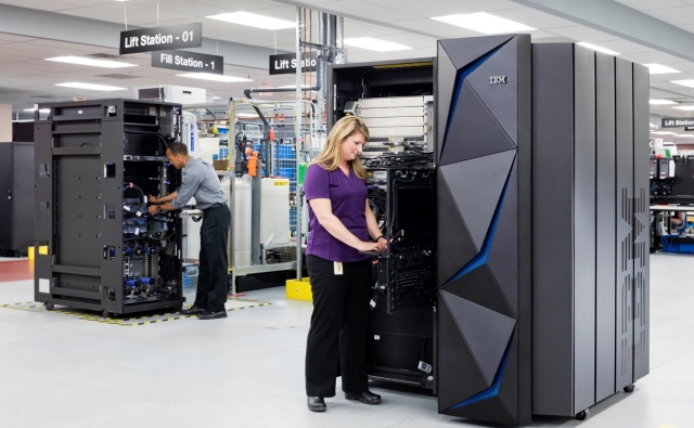 photo image IBM Z mainframe brings end-to-end encryption to all your data