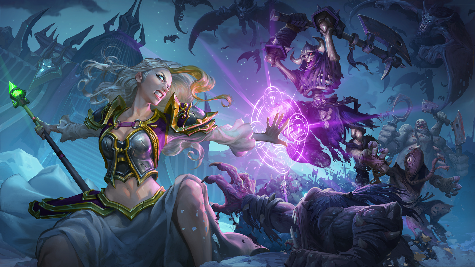 Hearthstone Knights Of The Frozen Throne Creating Death