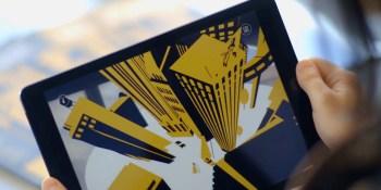 Nexus Studios finds ARKit's tracking works with Google's Cardboard