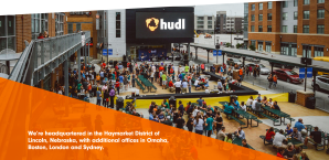 This is an image showing Hudl's headquartersin Nebraska.
