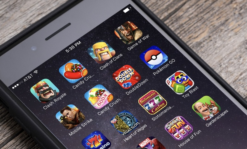 The hot mobile games