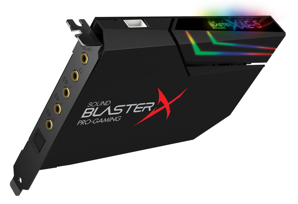 sound blasterx ae 5 sound card will get the most from your headphones venturebeat. Black Bedroom Furniture Sets. Home Design Ideas
