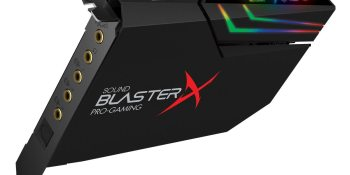 Sound BlasterX AE-5 sound card will get the most from your headphones