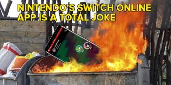 Nintendo's Switch Online app is a complete joke