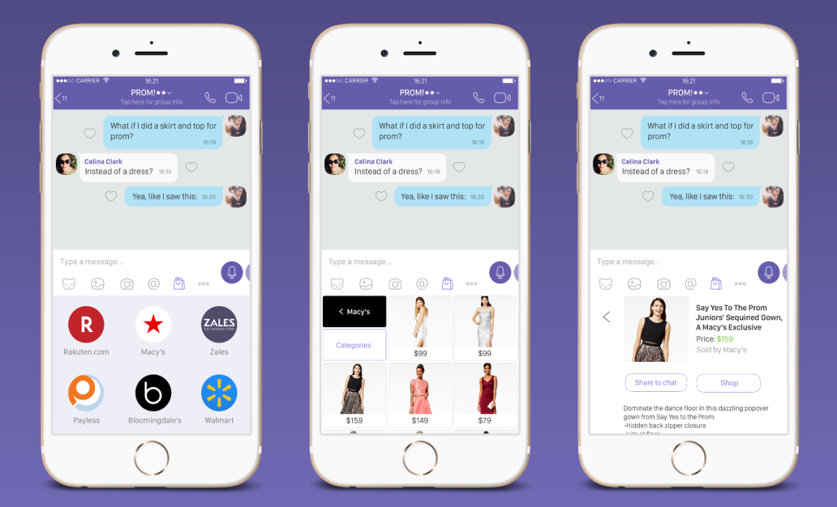 6f3afcdebe0 Viber acquires Chatter Commerce