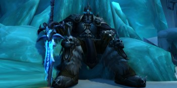 Watch Hearthstone's Lich King respond to fan comments and GamesBeat disciples