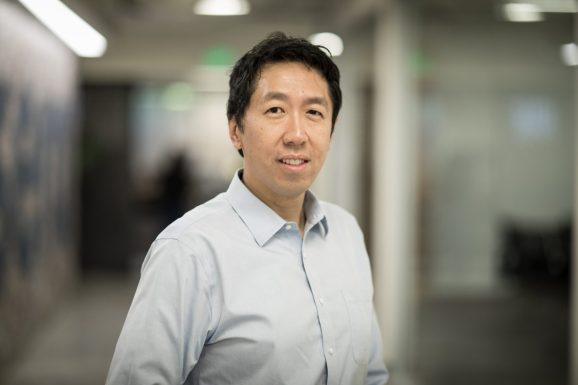Coursera cofounder Andrew Ng.