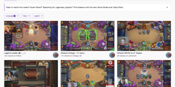 Twitch is making it easier to find the best Hearthstone and Overwatch streams