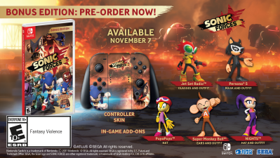 New Sonic Game For Ps4 : Sonic forces is out for switch ps4 xbox one and pc on november 7