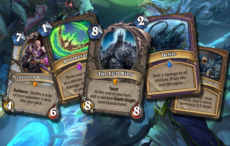 The 10 most exciting Hearthstone: Knights of the Frozen Throne cards