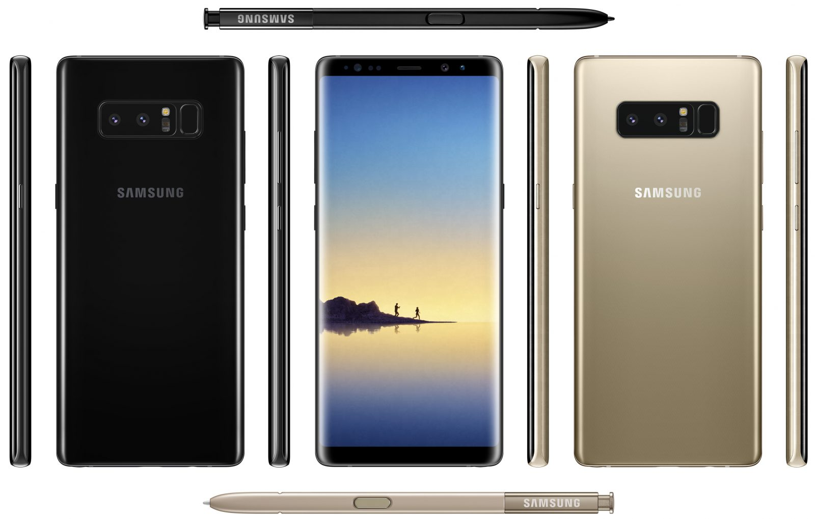 Leaked Images Give Sneak Peek at Samsung's Coming Galaxy Note 8