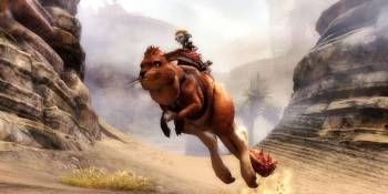 Guild Wars 2: Path of Fire designer explains why their mounts stand out in the MMO crowd