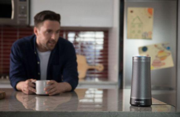 Invoke speaker with Cortana inside.