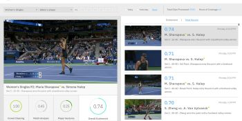 IBM will derive highlights for U.S. Open tennis matches using Watson AI
