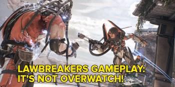 Lawbreakers gameplay: Watch us play the new zero-gravity character shooter