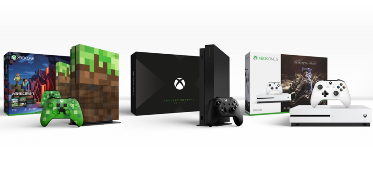 Microsoft Unveils Xbox One X Limited Edition And Xbox One
