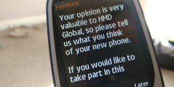 HMD Global is preinstalling surveys on Nokia phones