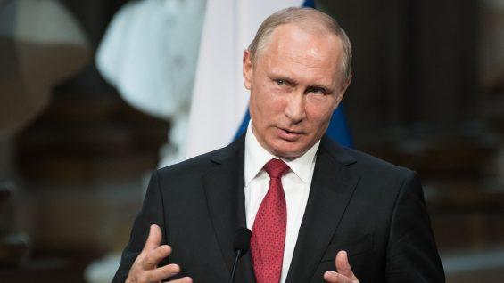 Vladimir Putin, the president of Russian Federation, on May 29, 2017.