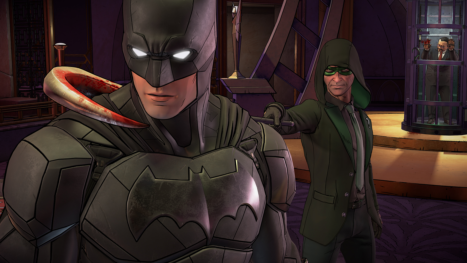 First episode of Batman: The Enemy Within released