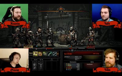 Twitch broadcaster turns single-player Darkest Dungeon into