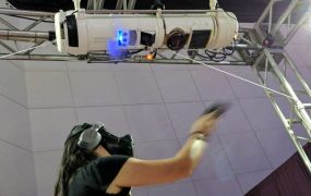 This VR experience sims environmental effects like heat and cold.