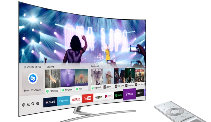 Samsung TVs now let you use Shazam to discover what songs are playing in movies and TV shows