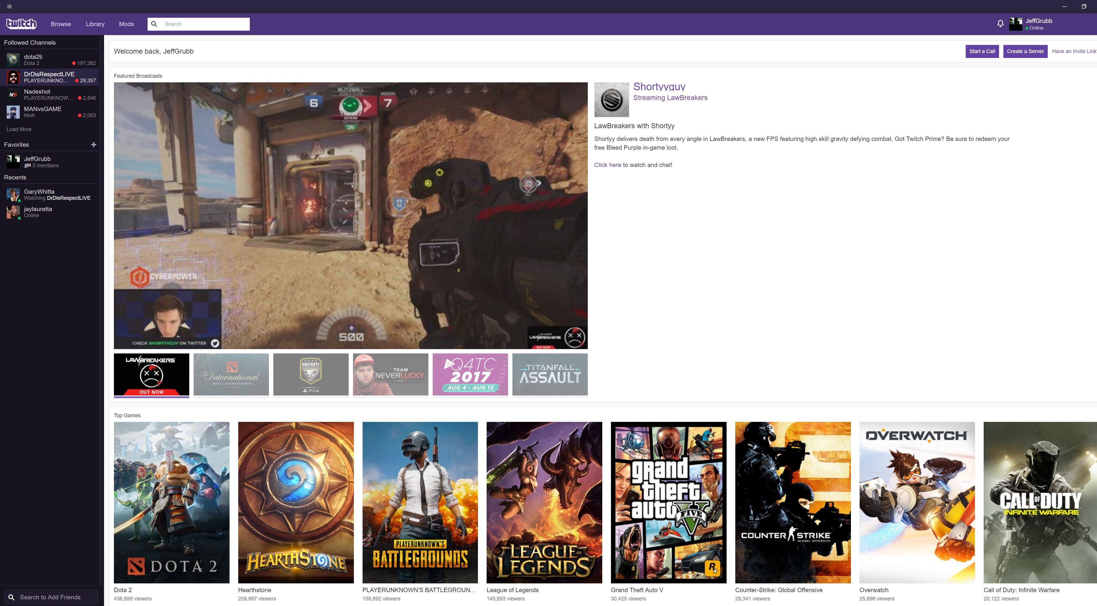 twitch desktop version
