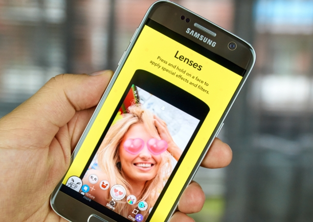 photo image Snap's user growth is slowing, but advertisers don't care