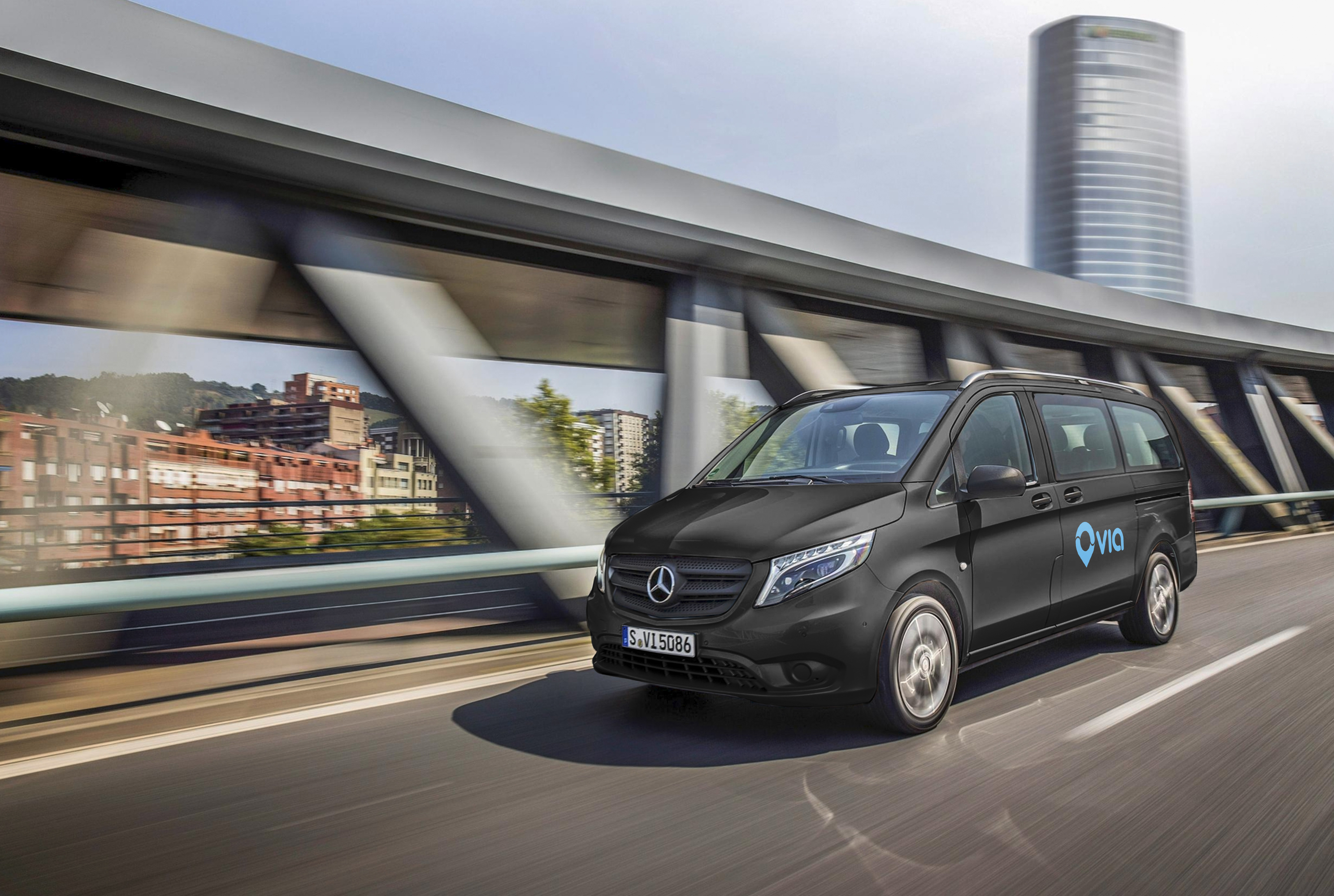 Mercedes leads $250m funding for ride sharing startup Via