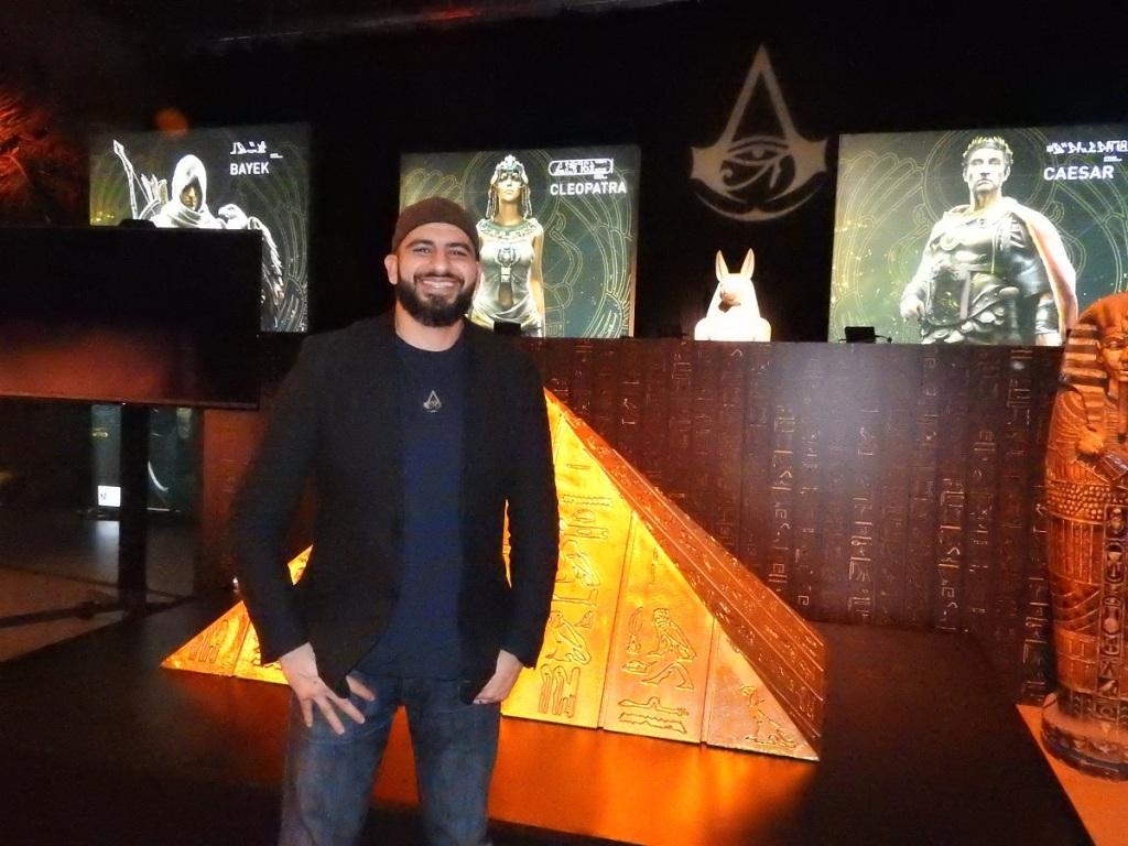 AShraf Ismail is game director on Assassin's Creed Origins.