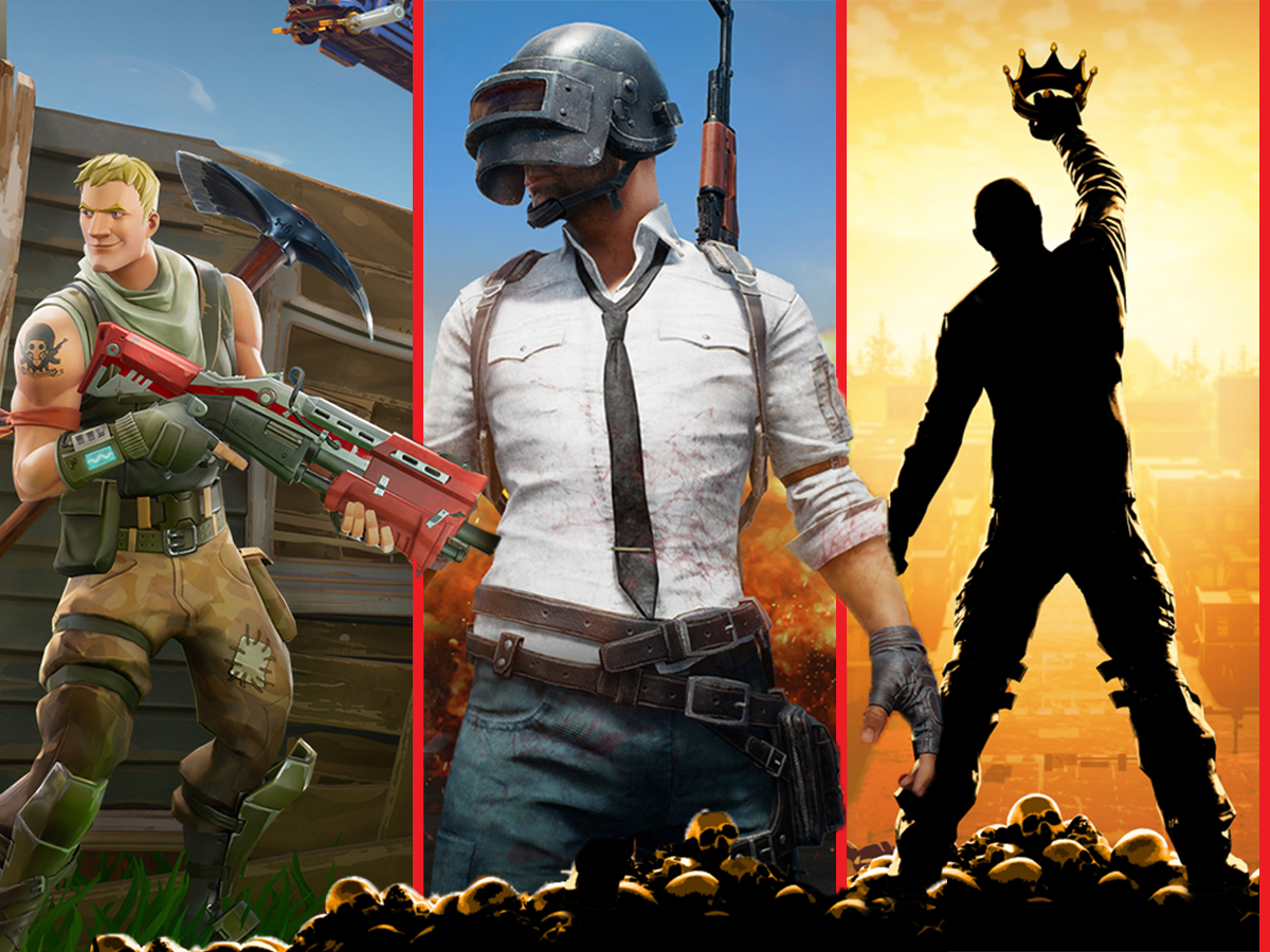 Comparing more Battle Royale shooters: PUBG vs  Fortnite vs