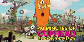 Cuphead gameplay — watch us run, gun, and fight bosses