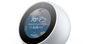 Amazon's Echo Spot could make video calls more viable