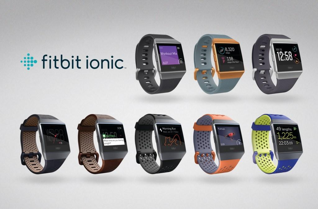 Fitbit Ionic Zifferblätter