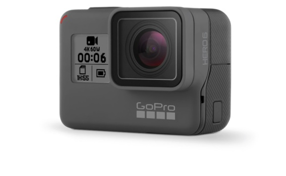 Gopro hero6 action camera debuts with 4k 60fps visuals venturebeat gopro hero6 action camera debuts with 4k 60fps visuals malvernweather Choice Image