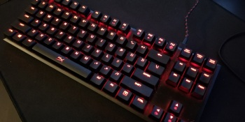 HyperX's tenkeyless Alloy FPS Pro appeals to the mechanical-keyboard minimalist
