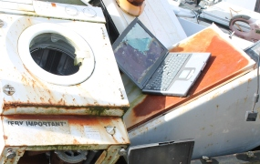 Electronics waste is one of many