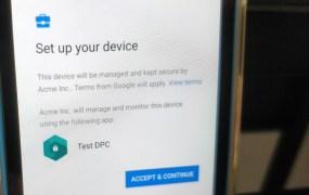 Google: Zero-touch