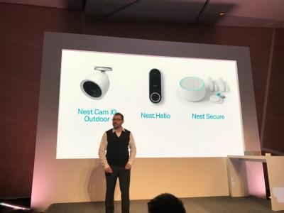 Nest unveils new outdoor camera, doorbell, and home security
