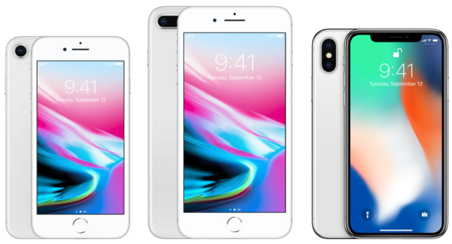 photo image iPhone 8, iPhone 8 Plus, and iPhone X: What Apple changed