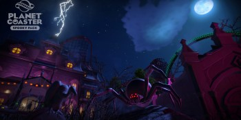 Planet Coaster's Halloween-themed pack can scare the money out of your wallet