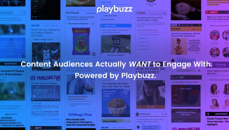 Playbuzz raises 35 million from disney and others for sponsored above playbuzz adds social content to media sites sciox Image collections